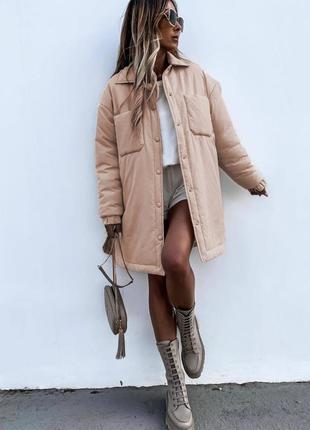 Куртка рубашка женская курточка весна осень демисезонная куртка