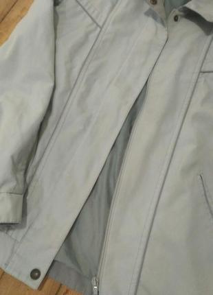 Куртка ветровка dannimac серая