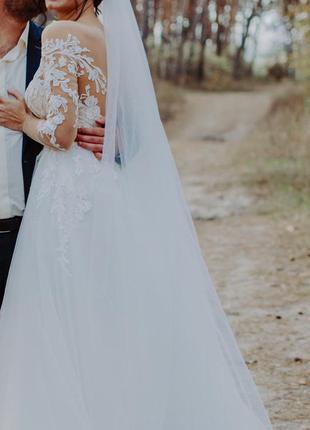 Свадебное платье dominiss коллекция «lite» 2020