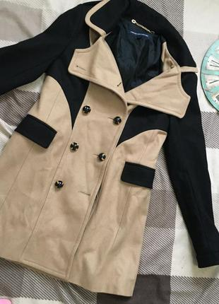 Шикарное дорогое кашемировое пальто тёплое демисезонное