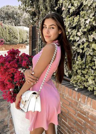 Платье с молнией zara