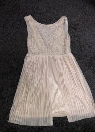 Пудрове шикарне плаття