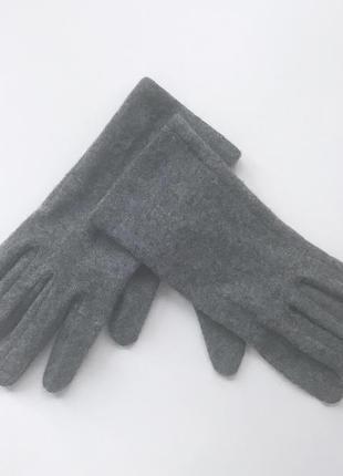 Женские перчатки 100% шерсть