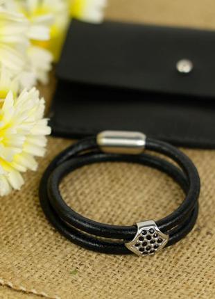 Оригинальный женский браслет со стразами + подарок!