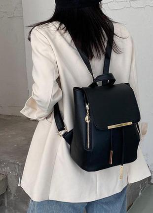 Женская стильная сумка - рюкзак экокожа