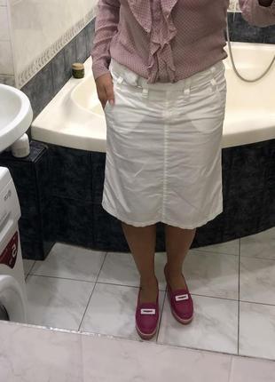 Юбка с карманами, с поясом  , tom tailor