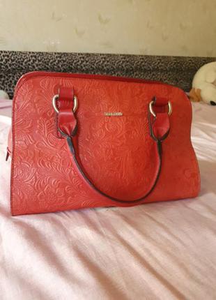 Кожаная сумка из mdk