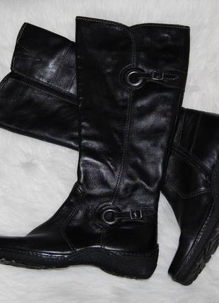 Сапоги кожа кожаные gabor 40 р-р 26 см