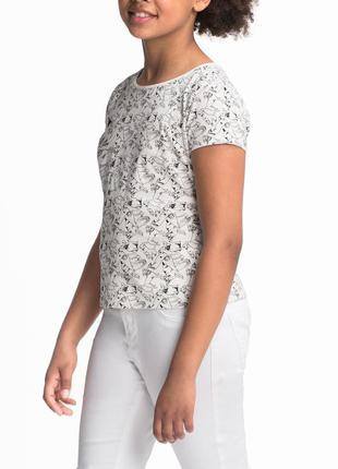Бавовняна футболка з песиками, р.хs, c&a, німеччина