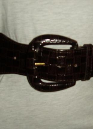Красивый коричневый пояс/ремень pieces accessories