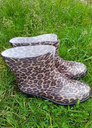 Красивые женские резиновые сапоги 36-41 гумові чоботи резинові