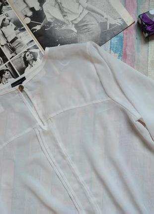 Прозрачная шифоновая блуза с объемными рукавами bodyflirt