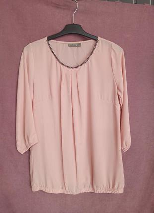 Блуза blue motion, розовая блузка