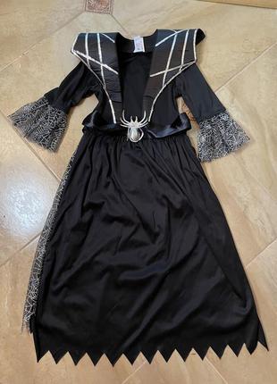 Платье ведьмы хеллоуин