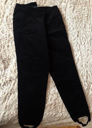 Вельветовые брюки-лосины m&s
