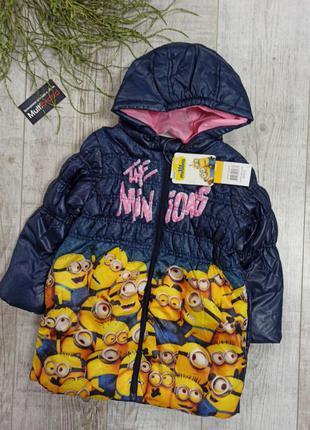 Куртка пальто демисезонное disney