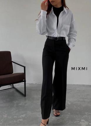 Классический костюм брюки и рубашка