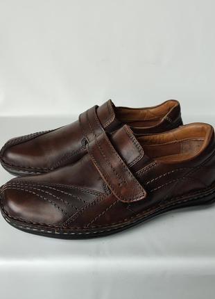 Туфли натуральная кожа falcon