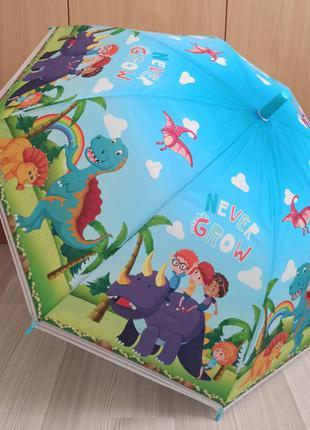 Детский зонт динозавры