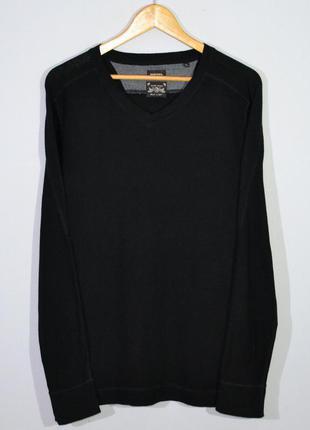 Свитшот diesel v neck sweatshirt