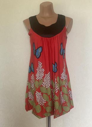 Платье летнее с 🦋 бабочками