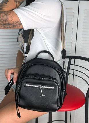 Рюкзак сумка еко шкіра