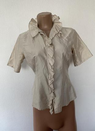 *100% шовк /шелк!! шикарна блуза !!