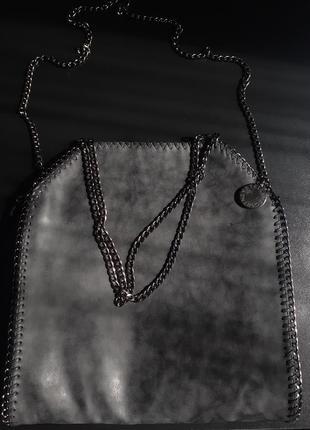 Stella mccartney объемная сумка на плечо falabella