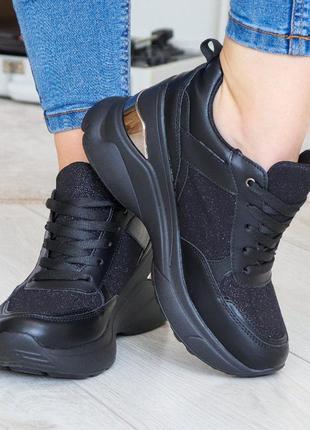 Сникерсы женские 3227 кроссовки на танкетке снікерси жіночі кросівки
