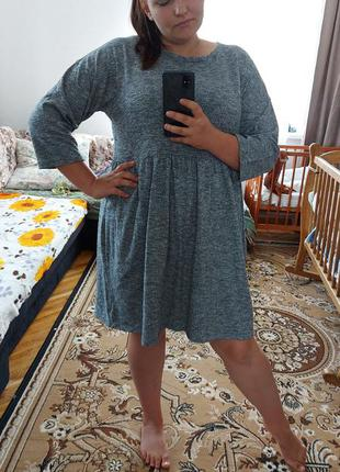 Стильна батальна сукня