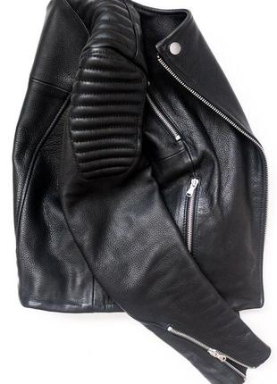 Крутая куртка кожанка косуха h&m