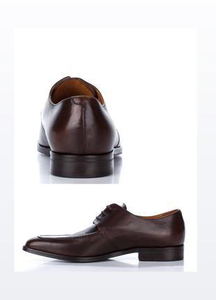 Туфли на шнуровке , ручная работа , англия .