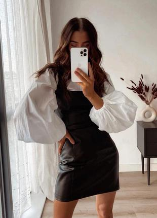 Костюм рубашка и сарафан
