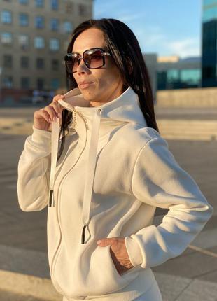 Спортивный костюм женский на флисе(с начесом) и без начёса