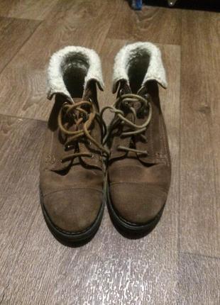 Ботинки зимние topshop