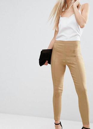 Новые с этикеткой стрейтчевые брюки asos