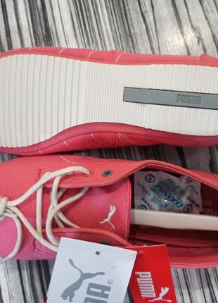 Оригинал женские туфли слипоны кроссовки puma geselle canvas размер 39