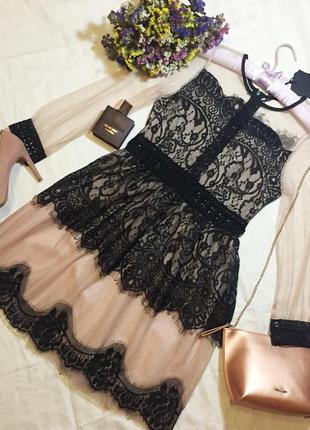 Нежное новое вечернее платье тренд 2017-2018 года