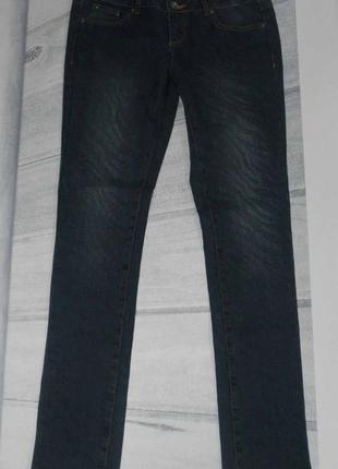 Принтовые демисезонные  джинсы, германия размер 48 наш