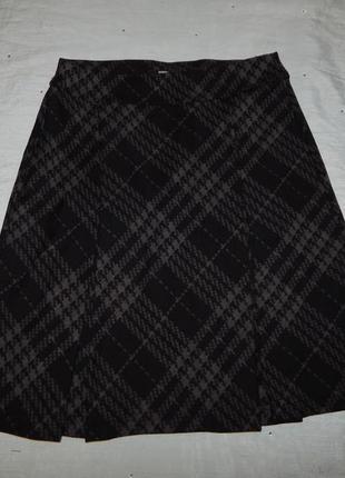 Marks&spencer юбка плотный трикотаж р 8