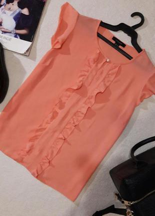 Красивая нежная блуза размер l