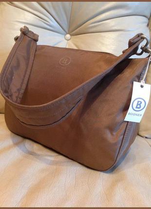 Vip болоневая сумка – люкс бренд bogner – германия – новая