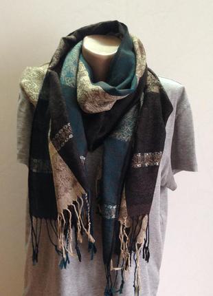 Шаль пашмина платок шарф