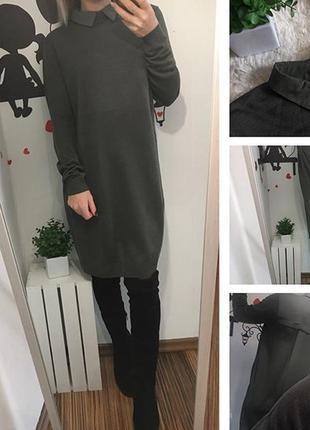 Платье свитер-рубашка atmosphere