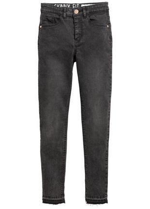 Стрейчевые джинсы h&m м размер