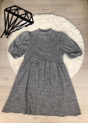 Платье рукава буфы