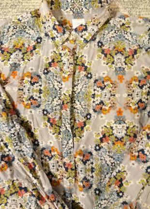 Шёлковая блуза, р м