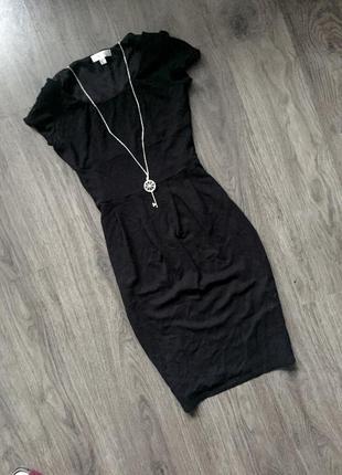 Чёрное платье от next