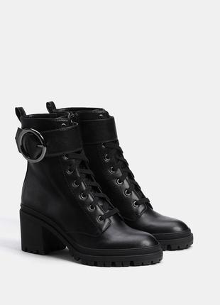 Модные ботинки bershka