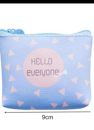 Кошелёк сумка для хранения органайзер женская косметичка пенал для мелочи для денег на молнии